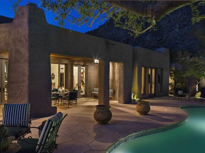 Casa para uma família for sales at This Bill Tull Authentic Adobe Home Is An Artistic Masterpiece 10040 E Happy Valley Rd #504 Scottsdale, Arizona 85255 Estados Unidos