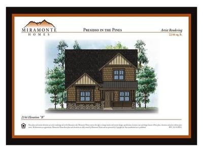 Single Family Home for sales at Miramonte Home Design 2887 W Patio Del Presidio 10a Flagstaff, Arizona 86001 United States