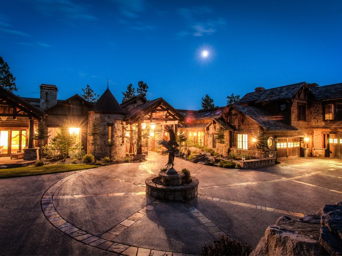 Single Family Home for sales at The Ultimate Black Rock  experience 6397 W PLATINUM DR Coeur D Alene, Idaho 83814 United States