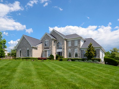 Single Family Home for sales at Elegantly Irresistible in Hopewell Hunt - Hopewell Township 22 Caroline Drive Princeton, New Jersey 08540 United States