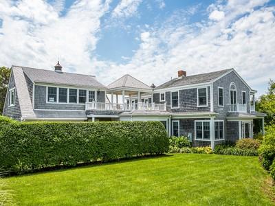 Nhà ở một gia đình for sales at Katama waterviews on Edgartown Bay Road 52 Edgartown Bay Road 9 Town Lot Road Edgartown, Massachusetts 02539 United States