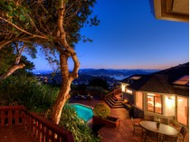 Casa Unifamiliar for sales at Mesmerizing Views of SF, GGB, Belvedere Lagoon & Richardson Bay! 31 Meadow Hill Drive   Tiburon, California 94920 Estados Unidos