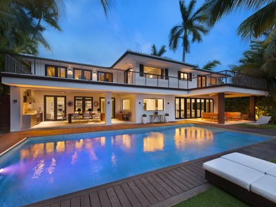 Maison unifamiliale for sales at 44 W Rivo Alto Dr.  Miami Beach, Florida 33139 États-Unis