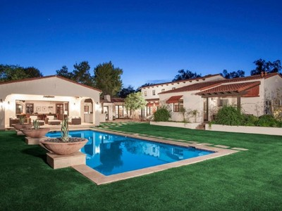Single Family Home for sales at Stunning Santa Barbara Home On 1+ Acre Lot In Highly Coveted Community 8129 N 74th Place Scottsdale, Arizona 85258 United States