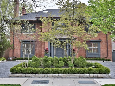 Tek Ailelik Ev for sales at Truly Exceptional Rosedale Property 57 Highland Avenue Toronto, Ontario M4W2A2 Kanada