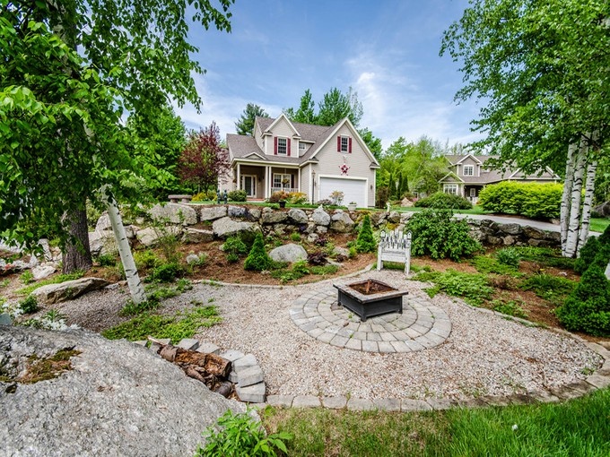 Single Family Home for sales at Interior Designer Lake Home 10 Race Point Road   Laconia, New Hampshire 03246 United States