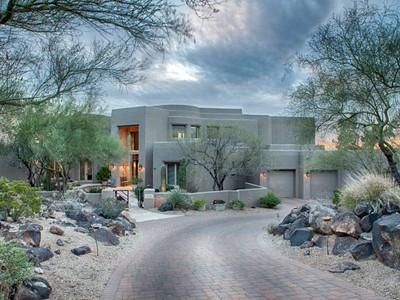 Частный односемейный дом for sales at Custom Hillside Home With Sweeping City Light And Mountain Views 14624 N 15th Drive Phoenix, Аризона 85023 Соединенные Штаты