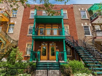 公寓 for sales at Villeray   Huge 3 storey appartment 8173-8177 Rue Drolet Montreal, 魁北克省 H2P2H6 加拿大