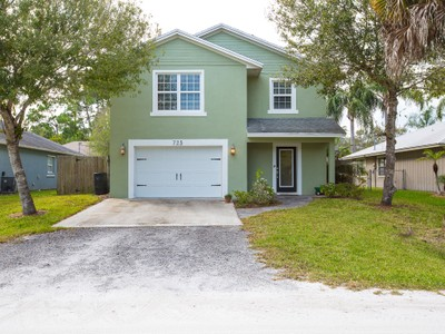 Single Family Home for sales at 2 Story Home in Pine Tree Park 725 61st Avenue   Vero Beach, Florida 32968 United States