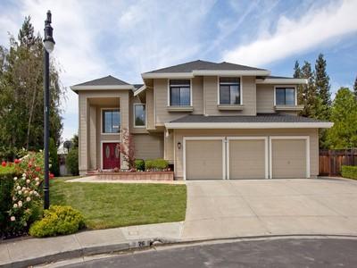 Maison unifamiliale for sales at Spacious Home 26 La Vista Way  Danville, Californie 94506 États-Unis