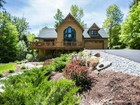 Maison unifamiliale for  sales at Custom Adirondack Home with dock for 2014 23 Spring Woods Road Diamond Point, New York 12824 États-Unis