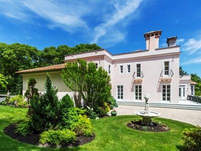 Maison unifamiliale for sales at Magnolia Oceanfront Villa 13 Strawberry Cove Gloucester, Massachusetts 01930 États-Unis