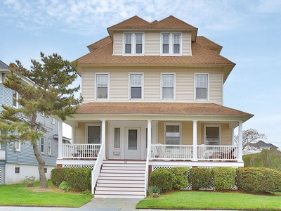 Single Family Home for sales at Seashore Colonial 25 Woodland Ave Avon, New Jersey 07717 United States