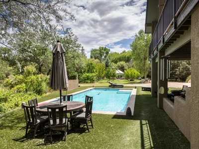 Single Family Home for sales at Magnificent Creek Front Home 675 S Sheepshead Crossing Rd Cornville, Arizona 86325 United States