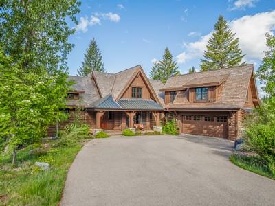Casa para uma família for sales at 101 South Shooting Star Circle 101 S Shooting Star Circle, Lot 77 Whitefish, Montana 59937 Estados Unidos