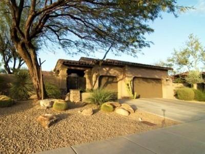 Частный односемейный дом for sales at Gorgeous Home in the Guard Gated Community of Grayhawk Raptor Retreat 8072 E Windwood Lane  Scottsdale, Аризона 85255 Соединенные Штаты