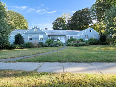 Single Family Home for sales at Spacious Ranch with In-Law, Featuring Views of Brooklawn Country Club 19 Collingwood Avenue  Fairfield, Connecticut 06825 United States