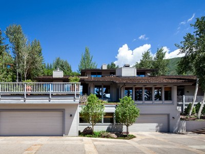 Maison unifamiliale for sales at Stunning Views from Red Mountain 71 Salvation Circle   Aspen, Colorado 81611 États-Unis