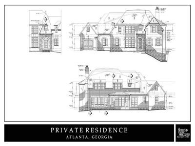 Частный односемейный дом for sales at New Construction In Heart Of Buckhead 1355 Moores Mill Road NW  Atlanta, Джорджия 30327 Соединенные Штаты