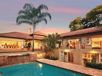 Single Family Home for sales at East meets West home in prestigious West Cliff  Johannesburg, Gauteng 2193 South Africa