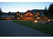 Ferme / Ranch / Plantation for sales at Premier Log Estate 6387 W Sturgeon Rd   Rathdrum, Idaho 83858 États-Unis