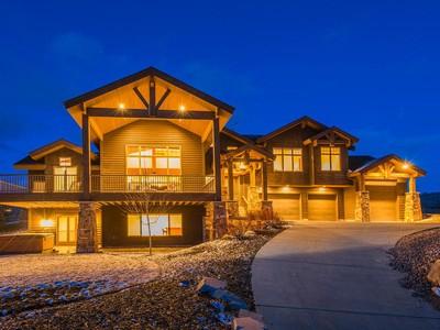 Maison unifamiliale for sales at Sunshine, Big Views, Big Value 6080 Mountain Ranch Dr Park City, Utah 84098 États-Unis