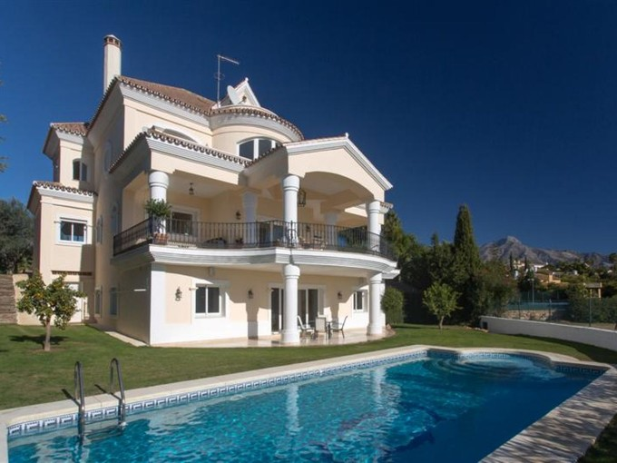 Single Family Home for sales at Frontline golf villa in Los Naranjos  Marbella, Andalucia 29660 Spain