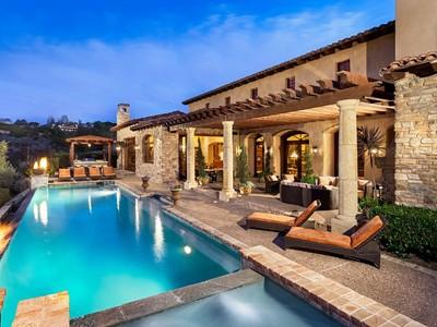 Tek Ailelik Ev for sales at 18471 Calle Tramonto   Rancho Santa Fe, Kaliforniya 92091 Amerika Birleşik Devletleri