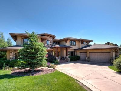 獨棟家庭住宅 for sales at Georgous home on Cottonwood Ln 1202 Cottonwood Ln Park City, 猶他州 84098 美國