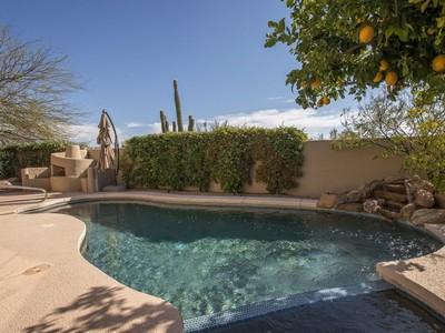 Vivienda unifamiliar for sales at Stunning Troon North Home 11121 E Mark Lane  Scottsdale, Arizona 85262 Estados Unidos