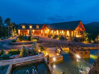 Einfamilienhaus for sales at 577 Bear Meadow Trail   Evergreen, Colorado 80439 Vereinigte Staaten