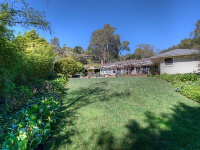 Single Family Home for sales at Gardeners' and Tennis Players' Paradise 12 Pigeon Hollow Road San Rafael, California 94901 United States