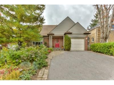Casa Unifamiliar for sales at Million Dollar Skyline View 18 Hillside Drive  Toronto, Ontario M4K2M2 Canadá
