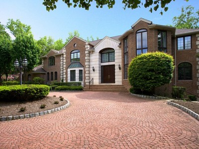 Single Family Home for sales at Georgian Colonial Manor 7 Hemlock Drive Alpine, New Jersey 07620 United States