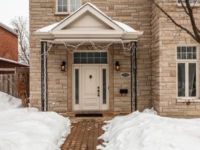 단독 가정 주택 for sales at Le Sud-Ouest (Montréal) 5950 Rue Angers Montreal, 퀘벡주 H4E4B3 캐나다