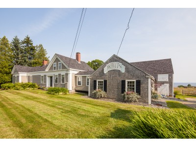 Single Family Home for sales at Painted Lady 2813 Atlantic Highway  Lincolnville, Maine 04849 United States