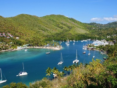 Vivienda unifamiliar for sales at Villa on the Bay Marigot Bay, Castries St. Lucia