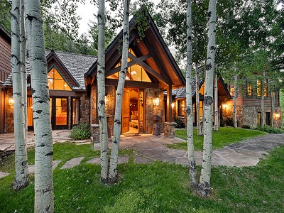 Einfamilienhaus for sales at Maroon Creek Club 86 Meadow Lane Aspen, Colorado 81611 Vereinigte Staaten