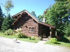 Single Family Home for  sales at Windham Log Home 859 Hitchcock Hill Road   Windham, Vermont 05359 United States