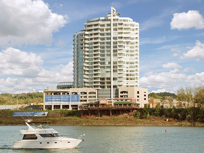 Condominium for sales at Southshore #901 400 Riverboat Row #901 Newport, Kentucky 41071 United States