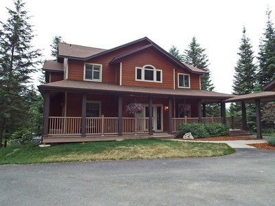 Single Family Home for sales at Fabulous mountain top retreat 3860 S. Bobsled Trail Coeur D Alene, Idaho 83814 United States