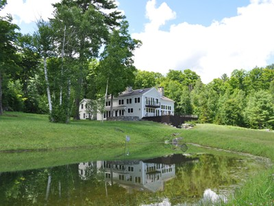 Single Family Home for sales at West Road Vermont Vernacular Manchester West Road Manchester, Vermont 05255 United States