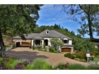 一戸建て for  sales at Exquisite Country French Estate 3949 Skyfarm Lane Santa Rosa, カリフォルニア 95403 アメリカ合衆国