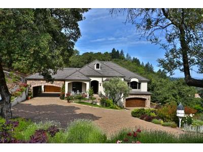 Villa for sales at Exquisite Country French Estate 3949 Skyfarm Lane Santa Rosa, California 95403 Stati Uniti