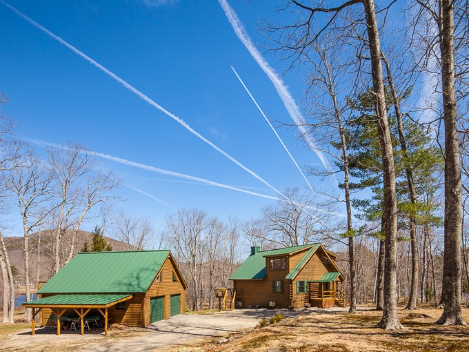 Single Family Home for sales at Hosmer Pond Cottage 54 Dirt Road Camden, Maine 04843 United States