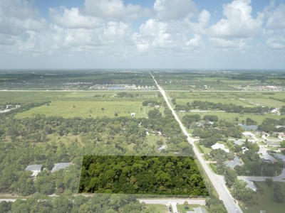 Terrain for sales at 4 Acre Homesite in Indian River Farms 0 49th Ave Vero Beach, Florida 32968 États-Unis