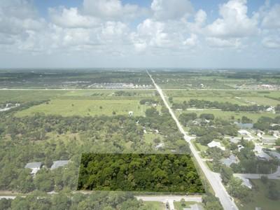 Đất đai for sales at 4 Acre Homesite in Indian River Farms 0 49th Ave Vero Beach, Florida 32968 Hoa Kỳ
