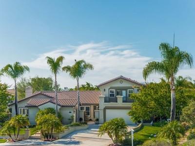Einfamilienhaus for sales at 3562 Corte Esperanza  Carlsbad, California 92009 United States