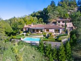 Moradia for sales at The Barry Zito Estate - Villa Della Pace 660 Goodhill Road Kentfield, Califórnia 94904 Estados Unidos
