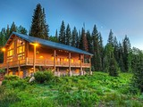 Property Of A Stream Runs Through It – Beautiful Secluded Mountain Home